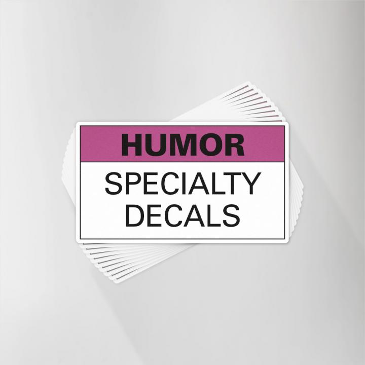 Humor Decals