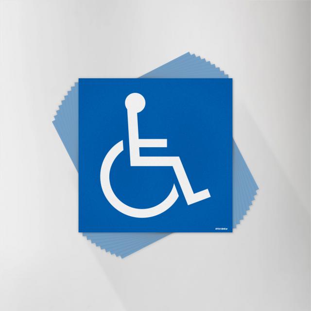 ADA Wheelchair Symbol Decal