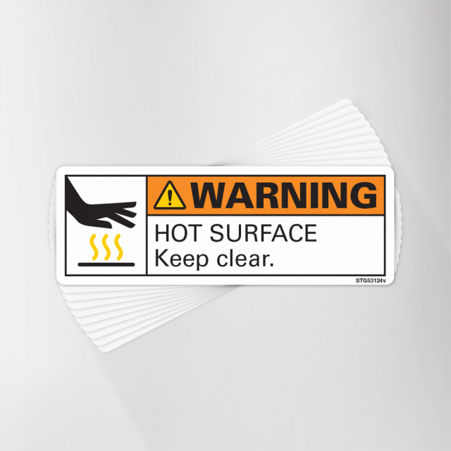 Hot Surface Decal Pack